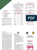 Maestría y Dontorado en Matematica Posgrado - Ucv (Universidad Central de Venezuela)