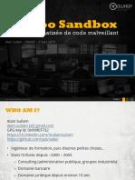 OWASP Geneva 2015-03-02 Alain Sullam CUCKOO