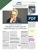 Atelier de músicas (04-02-17) María de Alvear