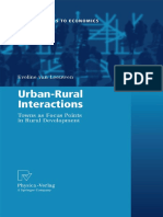 Urban Rural Interactions Towns as Focus Points in Rural Development Contributions to Economics