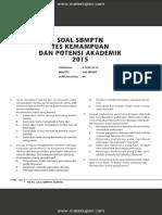 Soal SBMPTN Test Kemampuan Dan Potensi Akademik 2015 Dan Jawaban