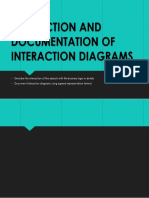 Production and Documentation of Interaction Diagrams