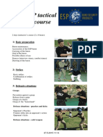 Program ESP Baton Course