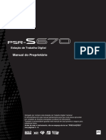 YAMAHA PSR S-670 Manual Do Proprietário