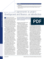 Joint Venture Agreements in Project Development and Finance- An Introduction