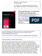 Patten - Economic Liberties - Final Published