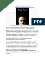 AFASIA Anomia