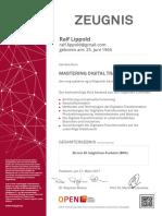 2017-03-27 Zeugnis MOOC MasteringDigitalTransformation RalfLippold