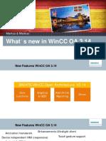 Wincc Oa User Days 2015 Whats New in Wincc Oa 3.14