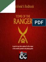 D&D5e - Class - AlanVenic Tome of the Ranger