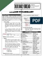ODB - English Vocabulary