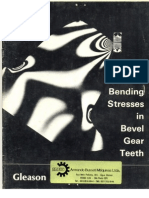 Bending Stresses in Bevel Gear Teeth