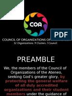COA Presentation With KRAs (1)