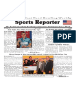 July 4 -10, 2017  Sports Reporter
