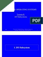 6 Input /Output  Subsystem