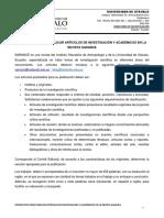 Instructivo Revista Sarance Febrero 2016