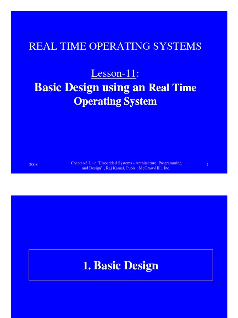 Embedded Real Time Operating Systems By Rajkamal Pdf Free 11 Consyadmindered