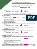 egberts graduate survey assessment for the education program   1