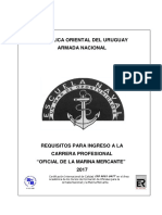 Requisitos Infreso Escuela Naval-2017