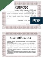 Exemplo Certificado Cipa