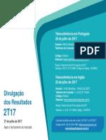 Estácio - Convite 2T17