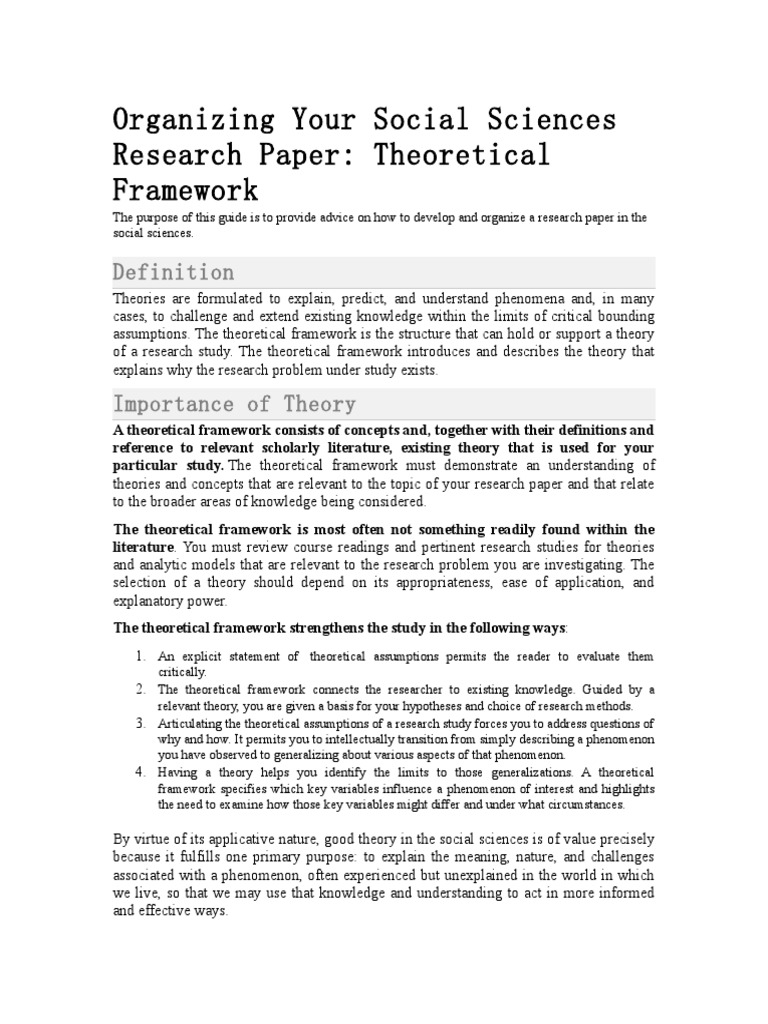 social structure theory pdf