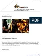 Guia Trucoteca La Noire Playstation 3