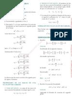 Ecuaciones Reductibles a Cuadráticas Lex