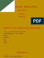 Expresiones Regulares en Cpp