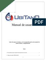 Manual de Usuario UBITANQ PRO Ver 2.1