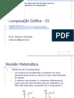 0 3 Comput_graf02_revisao Matem- Computação Gráfica - Aula 3