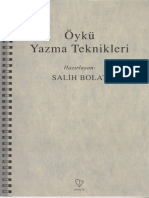 Salih Bolat Öykü Yazma Teknikleri Varlık Yayınları