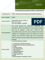 CCNA 2 Routing and Switching Essentials
