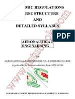 Aeronautical Engg Syllabus