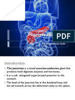 Pancreas Histology