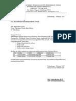 Surat Permohonan Data Proyek Ke PU BM