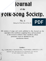 Journal of the Folk Song Society No.6