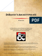 D&D5e - 3 for 1 DiBastets Archetypes 11 - Warlock