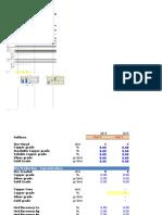 NPV - Dalmacia Mine UG Estudio Conceptual