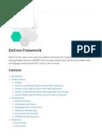 ExtCore Framework — ExtCore Framework 0.1