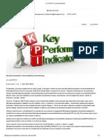 Ce Sunt KPI'S