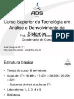 CADS AulaInaugural2017.1