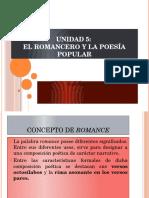 329680488 Unidad 5 El Romancero y La Poesia Popular 1
