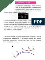 Metodo de Euler EDO