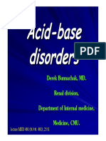 18 Acid Base Disorders