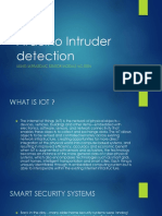 Arduino Intruder Detection