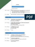 Agenda e Invitación foro de Salud