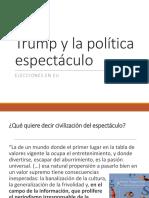 Trump y La Política Espectáculo