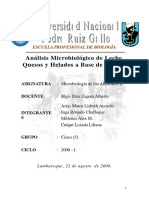 6907272 Microbiologia de Alimentos Analisis Microbiologico Leche y Derivados