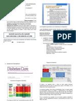 Diabetes en El Am Mayor de 80 Años